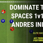 Dominate your tight space 1v1's like Andres Iniesta