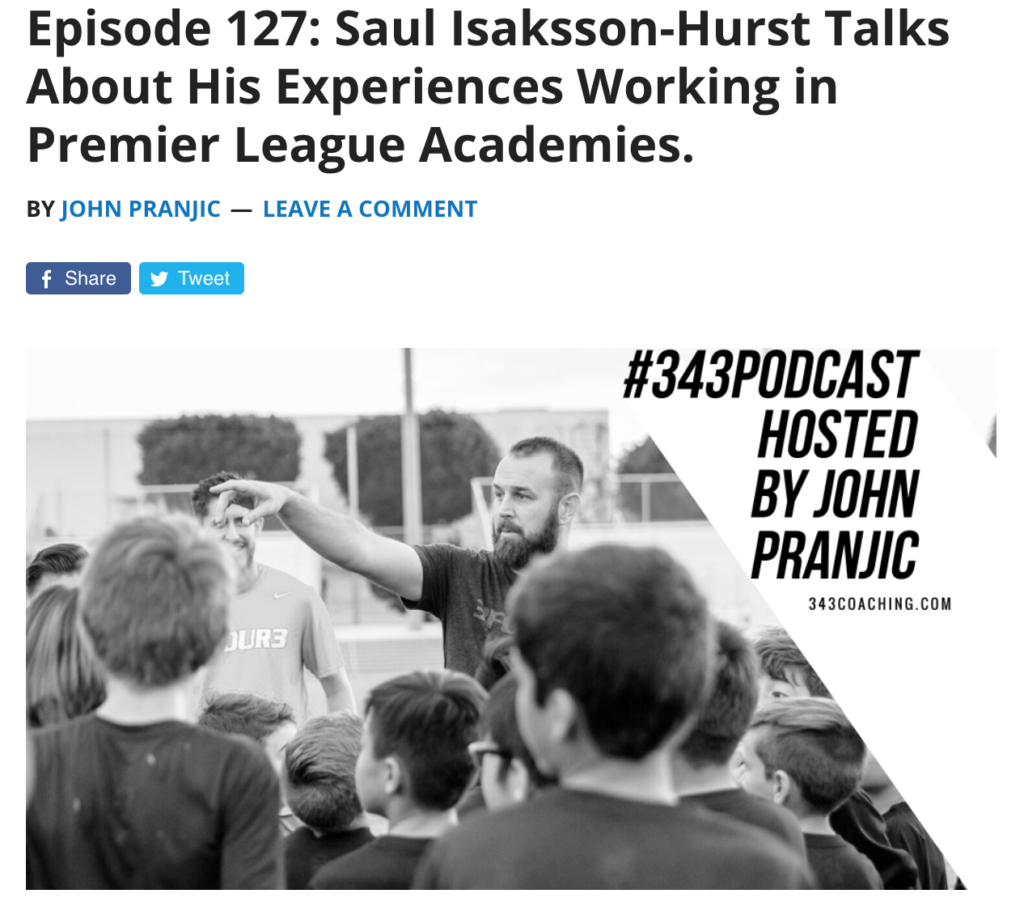 343 Coaching Podcast with John Pranjic