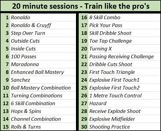 8-11 session plans