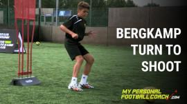 Bergkamp Turn To Shoot