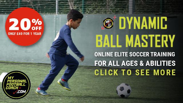 DBM 20% off online soccer training