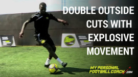 Double Outside Cuts With Explosive MovementBlack