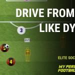 Drive from deep like Dybala