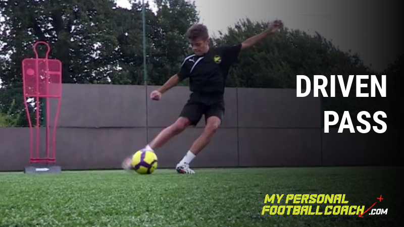 Driven Pass Against Wall My Personal Football Coach