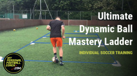 Ultimate soccer ball mastery ladder