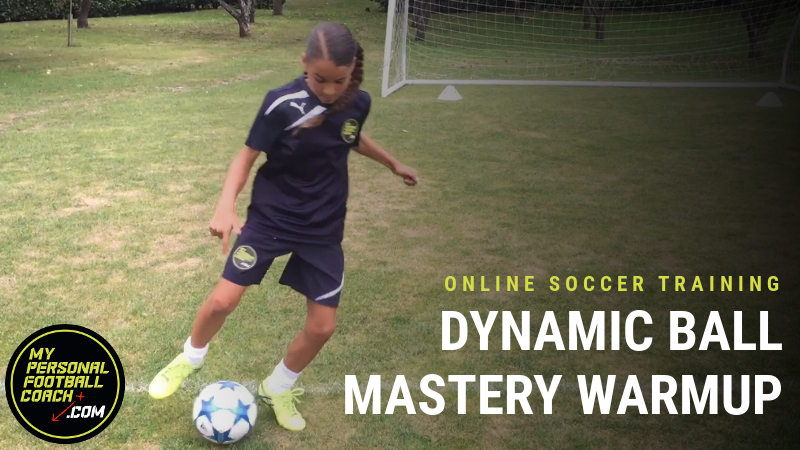 Dynamic Ball Mastery Soccer Warm Up