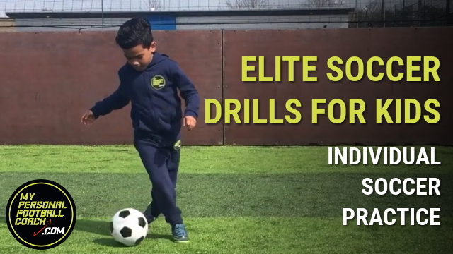 Elite Soccer Drills For Kids - Individual Soccer Practice