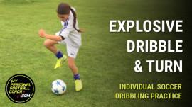 Individual Soccer Dribbling Drills For Kids