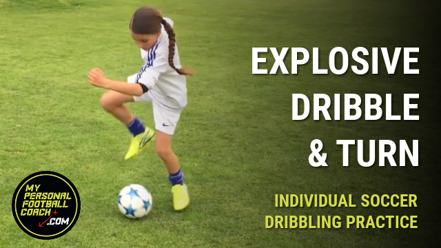 Individual Soccer Dribbling Drills For Kids