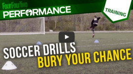 Soccer Skills Shooting Practice: Bury your chance