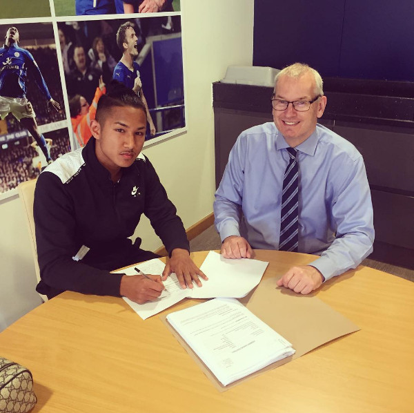 Faiq Bolkiah Signs For Premier League Champions Leicester City