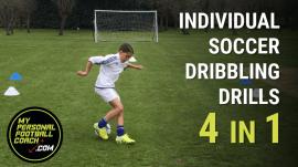 Individual Soccer Dribbling Drills