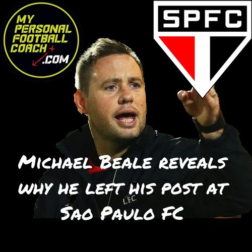 Michae lBeale Leaves Sao Paulo FC
