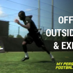 Off wall, outside cut with explosive movement