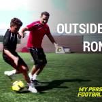 Outside cuts, Ronaldo - Pass