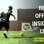 Receive off the wall-Inside cut - Cruyff