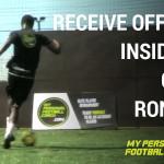 Receive off wall – Inside Cut – Cruyff – Ronaldo