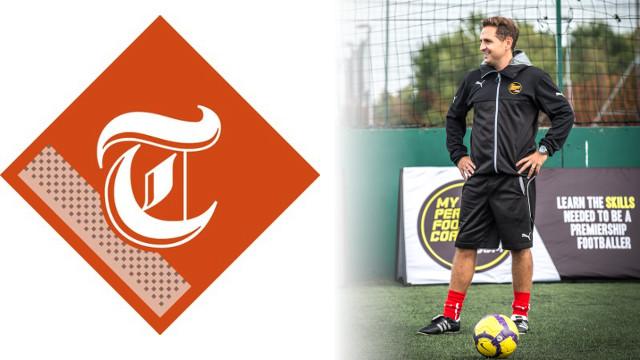 Head Coach Saul Talks to Telegragh Sport