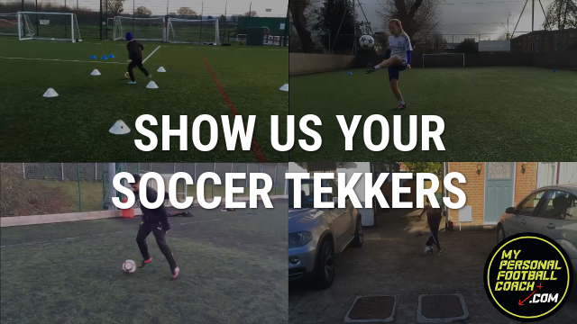 Show us your soccer tekkers