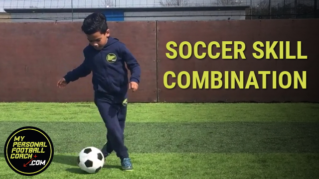 Learn Soccer Skill for Kids - 4 Skill Combination