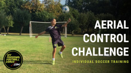Aerial Control Soccer Challenge