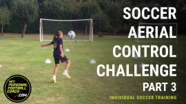 Soccer Aerial Control First Touch