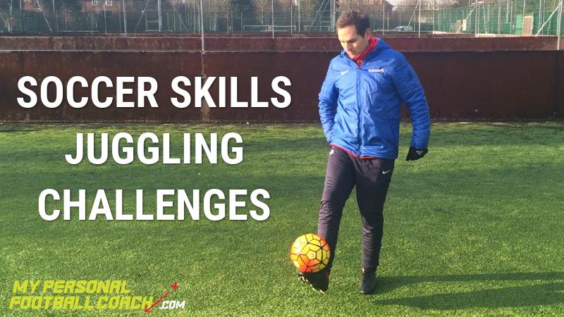 Soccer Skills Juggling Challenges