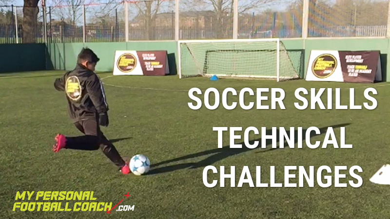 Soccer Skills Technical Challenges