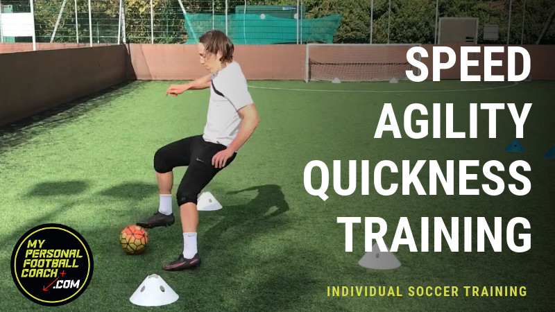 Speed, Agility & Quickness with a soccer ball