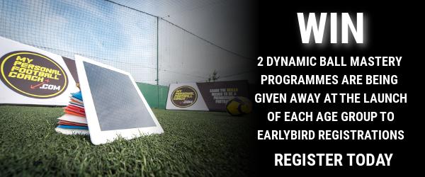 Dynamic Ball Mastery Win Earlybird Registration