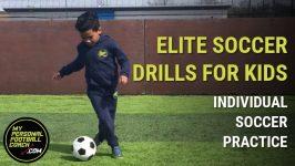 Elite soccer drills for kids – individual soccer practice