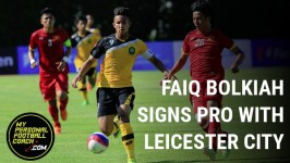 Faiq Bolkiah Signs Professional Contract with Premier League Champions Leicester City