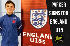 Harrison Parker signs for England U15