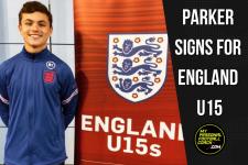 Harrison Parker signs for England U15