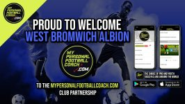 My Personal Football Coach Welcomes West Bromwich Albion Academy