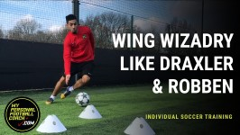Indivdual Soccer Training - Wing Wizardy Like Draxler & Robben