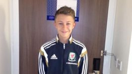 Dom is called up to Wales football squad!