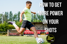 How to get more power on your shots