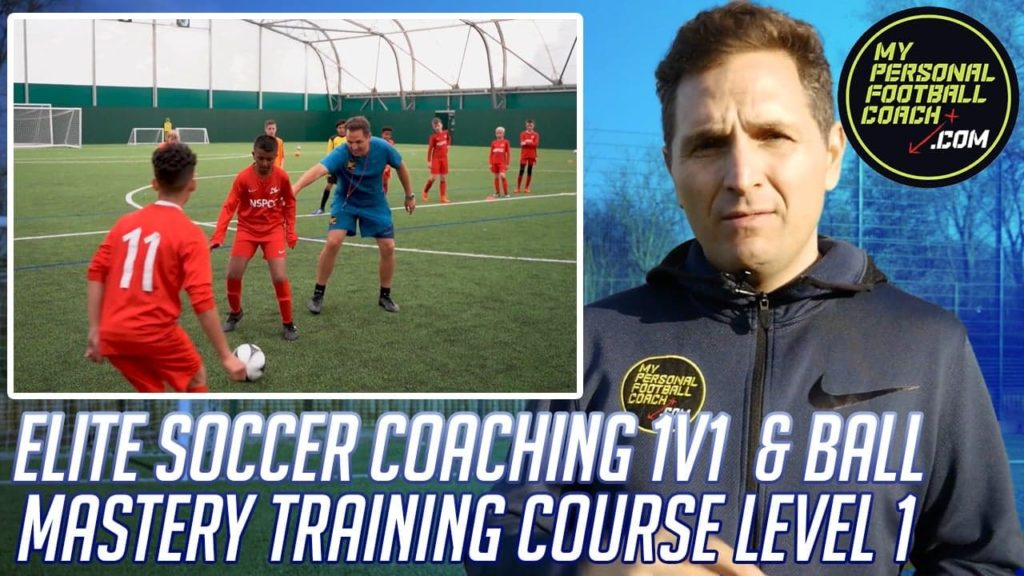 elite soccer coaching 1v1 and ball mastery training course by saul isaksson-hurst