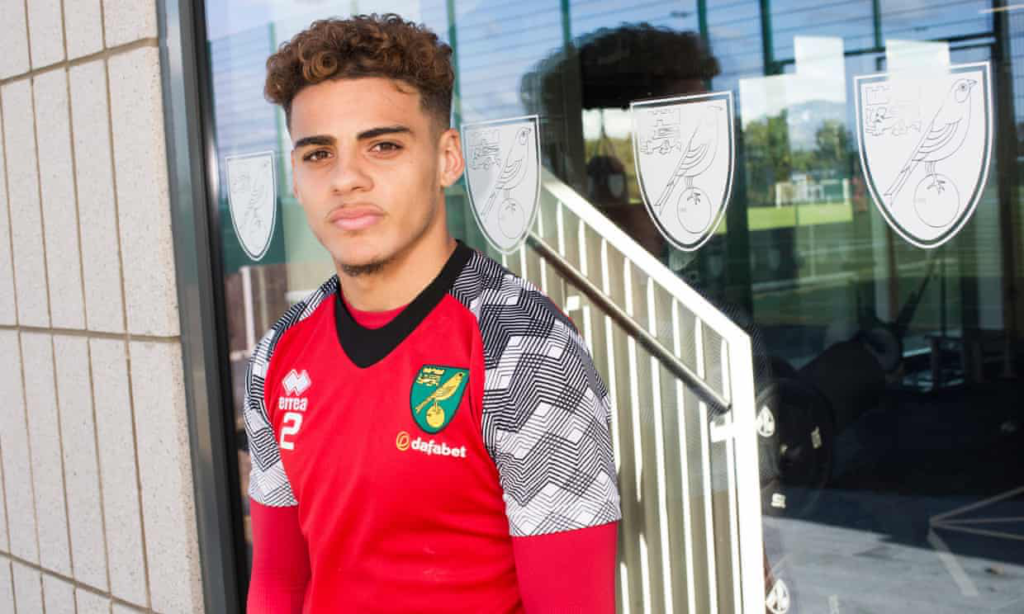 Norwich's Full-Back Max Aarons
