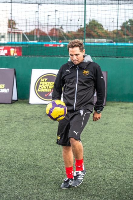saul isaksson-hurst: personal football coach
